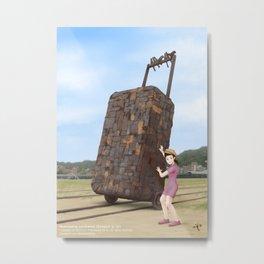 Takao Railway Museum Metal Print