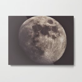 Moon scape Metal Print