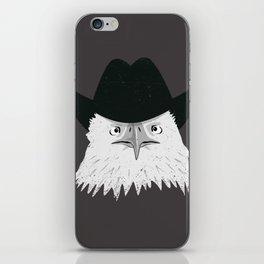 Eagle Cowboy Hipster iPhone Skin