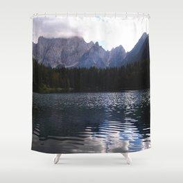 Lake Atmosphere Shower Curtain