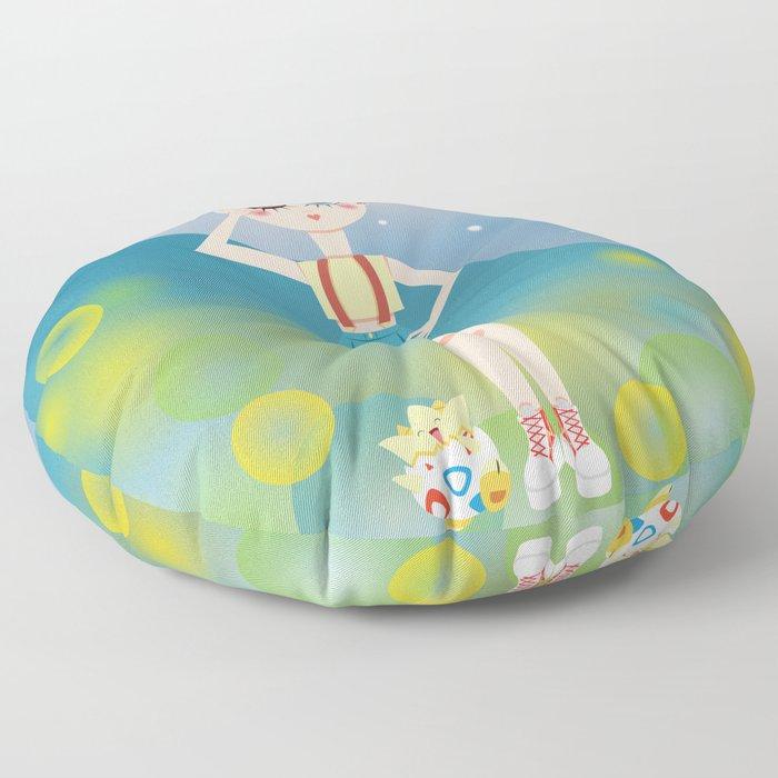 Mini Me Stars: Misty Floor Pillow