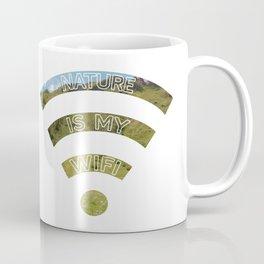 Nature Is My WiFi Coffee Mug