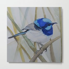 Blue Bird (Sold - original) Metal Print