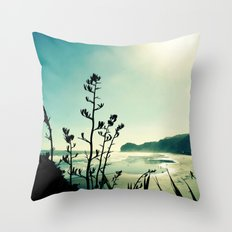 View from Lion Rock Throw Pillow