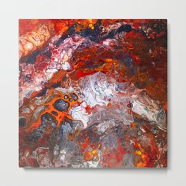 Inferno No. 1 Metal Print