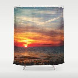 Sinking Shower Curtain