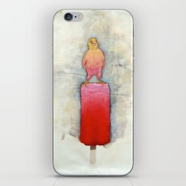 Watermelon Canary Popsicle iPhone Skin