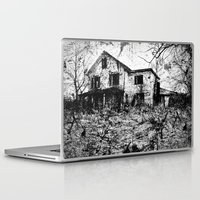 dramatical murder Laptop & iPad Skins featuring murder. by christopher justin gilner photographic