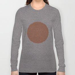 orange diamond Long Sleeve T-shirt