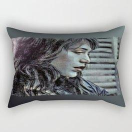 Traînées de Poussière Rectangular Pillow
