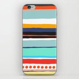 Pop Dot Line iPhone Skin