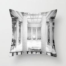 U.S. Custom House New Orleans Throw Pillow