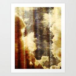 The Dutch Clouds 36 Art Print