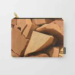 Raw Wood Carry-All Pouch