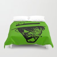 hunter s thompson Duvet Covers featuring Outlaws of Literature (Hunter S. Thompson) by Silvio Ledbetter