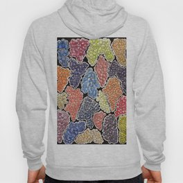 Grapes for wine lovers, gastronomy and restaurants Hoody