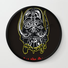 Eat The Sith Wall Clock