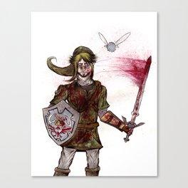 The Legend of Zelda: Link's Anger Canvas Print