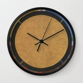 Hilma Af Klint Altarpiece No 3 Wall Clock