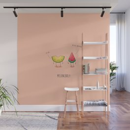 Meloncholy Wall Mural