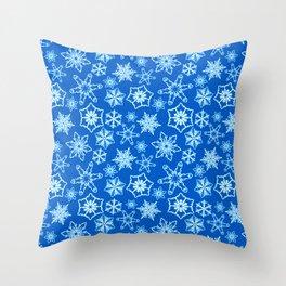 Winter Freeze Throw Pillow