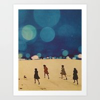 sci fi Art Prints featuring  Sci-Fi...Kids... by Hugo Barros