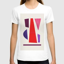 Pieces abstract T-shirt