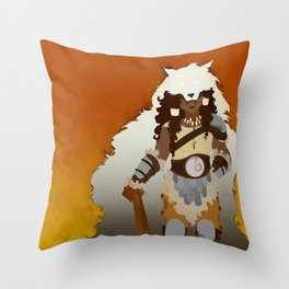 the Barbarian Throw Pillow