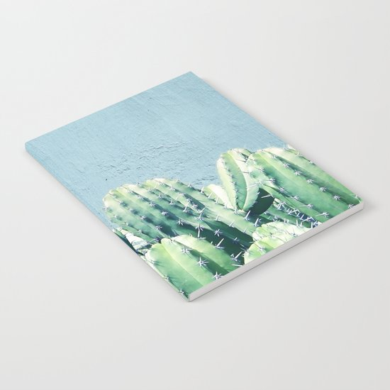 Cactus & Teal #society6 #decor #buyart Notebook