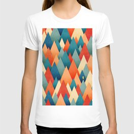 070 – deep into the autumn forest texture I T-shirt
