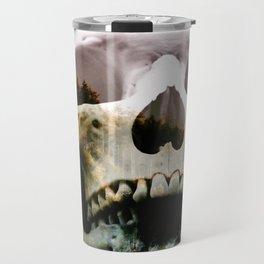 Horror in the woods Travel Mug