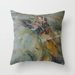 Dance like a flight Throw Pillow