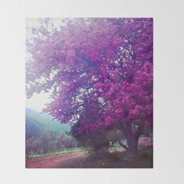 Glorious Spring Throw Blanket