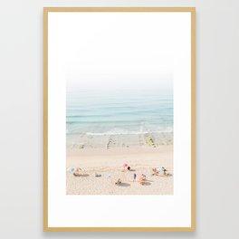 Lagos Beach Days II Framed Art Print