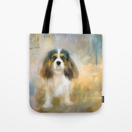 The Attentive Cavalier Tote Bag