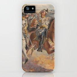 General JEB Stuart's Raid - Civil War - 1862 iPhone Case