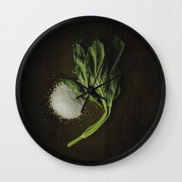 Basil and Salt Wall Clock