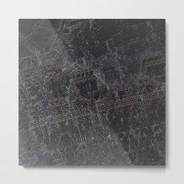 Fractal Oscurus Mandelbox Metal Print