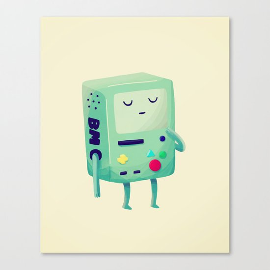 Who Wants To Play Video Games? Canvas Print