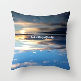 Differently Throw Pillow