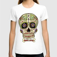 mexican T-shirts featuring Mexican Skull !!! by Adrian Filmore