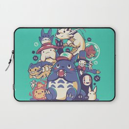 Creatures Spirits and friends Laptop Sleeve