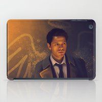 supernatural iPad Cases featuring Castiel - Supernatural by KanaHyde