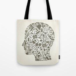 Head art Tote Bag