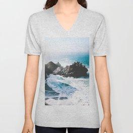 ocean falaise Unisex V-Neck