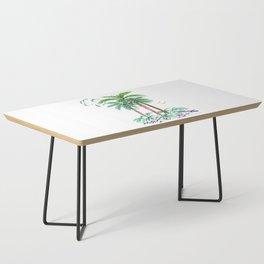 """Triplet Palms"" Coffee Table"
