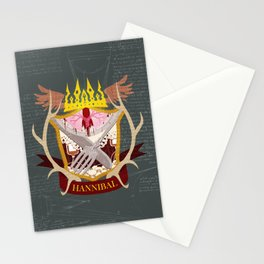 Hannibal Crest Stationery Cards