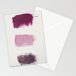 Paint Abstract 6 Stationery Cards