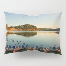 Furnas lake at sunset Pillow Sham
