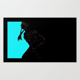 "Futaba Sakura ""Oracle"" from Persna 5 Art Print"